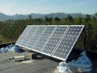 6KW china solar power system solar wind hybrid power system for North American