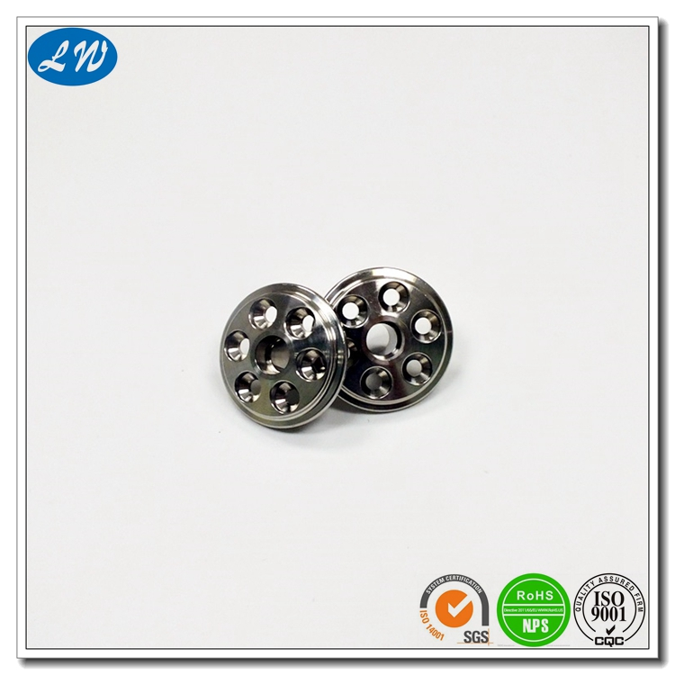 OEM cnc machining precision parts manufacturer lathe machined metal watch spare parts