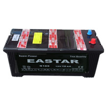 Truck JIS & DIN N150 12V 150AH Car battery dry charged auto battery