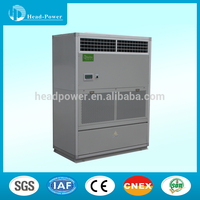 Hot Selling Air Cooled Duct Split Packaged Unit Central AC Air Conditioner Heat Pump Type Available