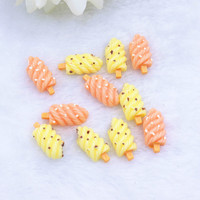 flatback resin foods DIY resin cabochons accessories resin icecream for kids home clothing