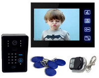Touch Screen 7inch color display video door phone TEC706VJIDS11