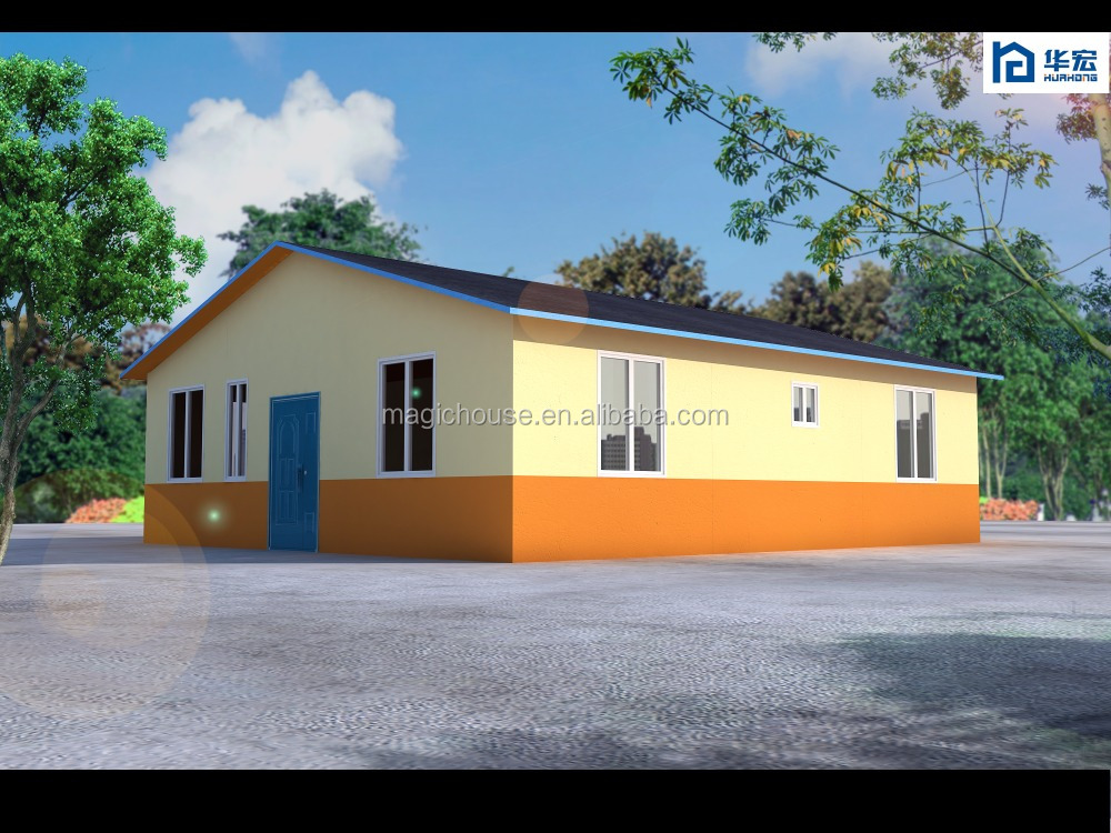 TUV certificated rapid completion low cost prefabricated bungalow house plans
