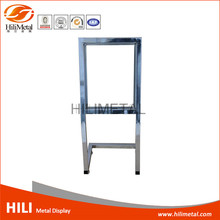 Advertising poster board cardboard display stand
