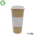 ECOBAMB 500ml bamboo fiber biodegradable coffee cups with customize logo print