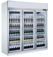 Supermarket equipment/fridge /beer cooler /glass door refrigerator cola/soft drink machine