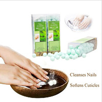 BATHRANI Papaya & Green Tea 250g Hand Spa Before NEON UV LED Soak Off Nail Polish Manicure Gel