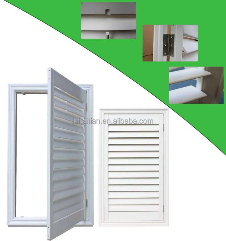 PVC Shutter windows sash company in China