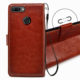 High Quality PU Leather Magnetic Flip Case for Huawei honor 9I with stands Wallet Book Cell phone Case