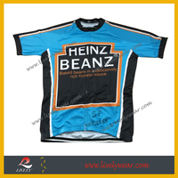 Men's Sublimation Printing Cycling jersey wholesale bicycle shirt