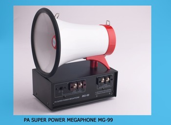 PA super power megaphone MG-099 for india and africa market