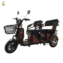 CE fat tire 3 wheel tricycle heavy duty mobility scooter for sale