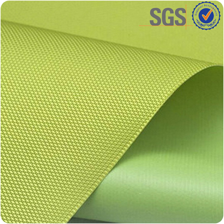 Hot sale pvc coated woven polyester waterproof pvc fabric 1000d for bags