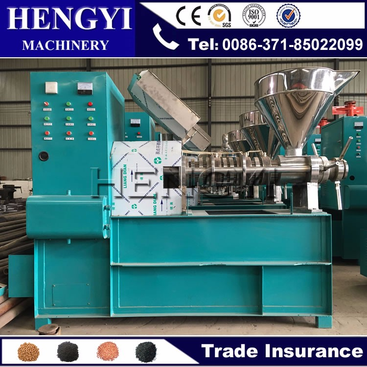 2017 new technology equipment moringa seed oil extraction machine/cold jojoba oil press machine