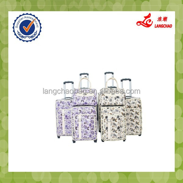 2015 famous flower lady gender hand luggage
