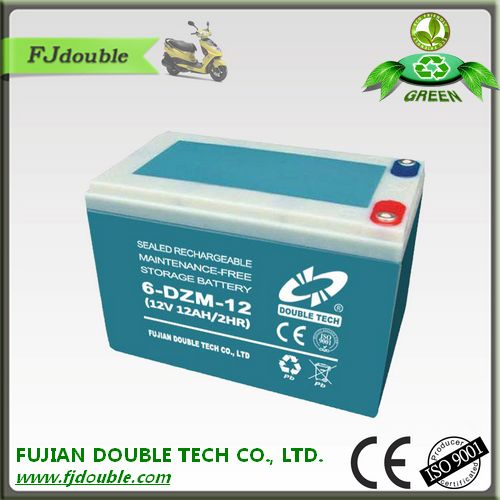 48v electric scooters battery 12ah electric vehicle battery 6-DZM-12