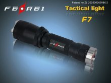 tactical 3w cree led flashlight F7 335 LUMEN