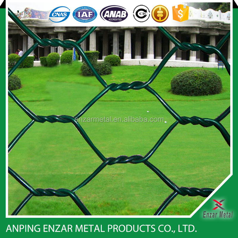 Black vinyl coated chicken wire poultry wire hexagonal wire netting