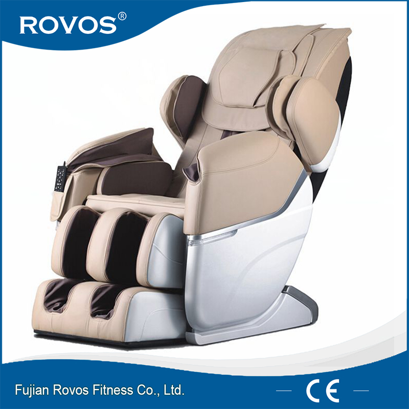 Sliding low noise infrared kneading shiatsu massage chair