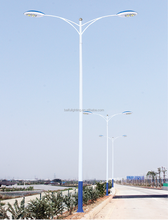 30W 40W 60W 80W Solar led street light All in one Outdoor steel cast iron street post