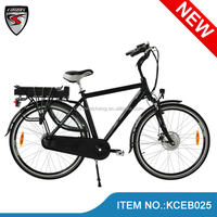 2014 Finland hot sale strong 700C electric cycle e-bike bicycle/pedelec 36V/250W with samsung battery /bafang motor/LCD