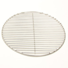round shape grill netting ss316 metal barbecue wire mesh