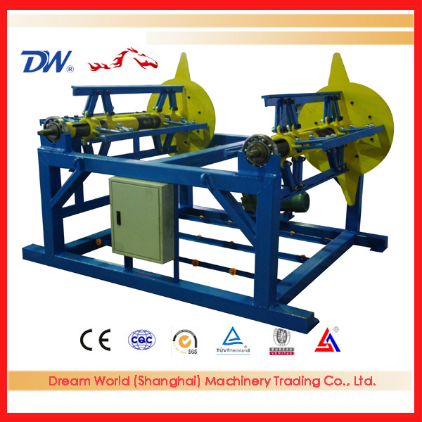 auto uncoiler for roll forming machine , steel coil uncoiler