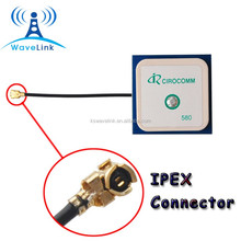 Factory Price Internal 1575r-A Passive 25-25-4mm Ceramic GPS Antenna With IPEX UFL Connector 1.13 Cable 50MM