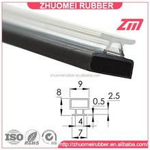 sliding shower door frame magnet seal