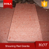 Exterior Granite tile Shouning Red