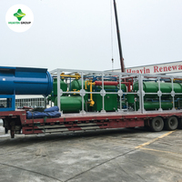 Advanced Technology 10 T Batch Type Waste Tyre(Plastic) Pyrolysis Plant to Oil Since 1993