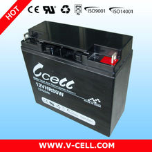 12V 80W replacement ups batteries