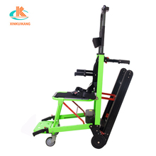 Old people up and down stairs electric crawler climbing staircase machine wheelchair stair climber