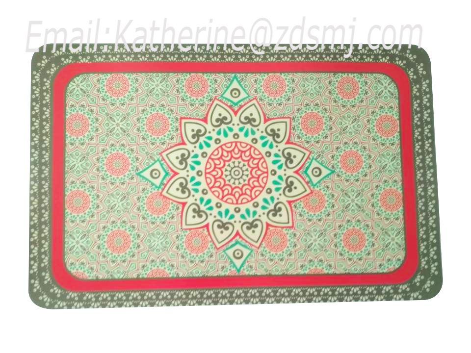 Eco-friendly PP tablemat/placemat/coaster for kitchen