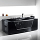 FICO black acrylic bathtub FC-260C