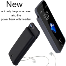 Wholesale New Design Mobile Phone 4300mah Power Case for iphone 7