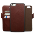 High quality universal mobile phone customized mobile phone holster wallet,for iPhone 7/Plus leather wallet