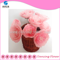 High quality long popular artificial flower heart wreath for Festival celebration