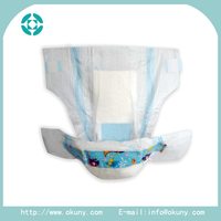 Printed cheap high quality baby diapers manufacturers in China