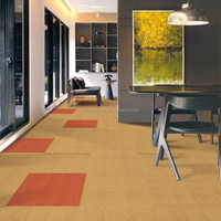 Waterproof Nylon Carpet Tile 50x50, Office Carpet, Modular Carpet and cushion back is available