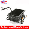 Bicycle Trailer with Plastic Tray and Powder-coated Iron Body