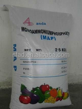 MAP 12 61 0 Mono ammonium phosphate price mainly used as a fertilizer but also as dry fire extinguisher