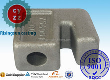 hot dip galvanized construction machinery parts made by investment casting