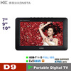 7'' 9'' 10.1'' portable digital lcd tv player with USB PVR support mobile play