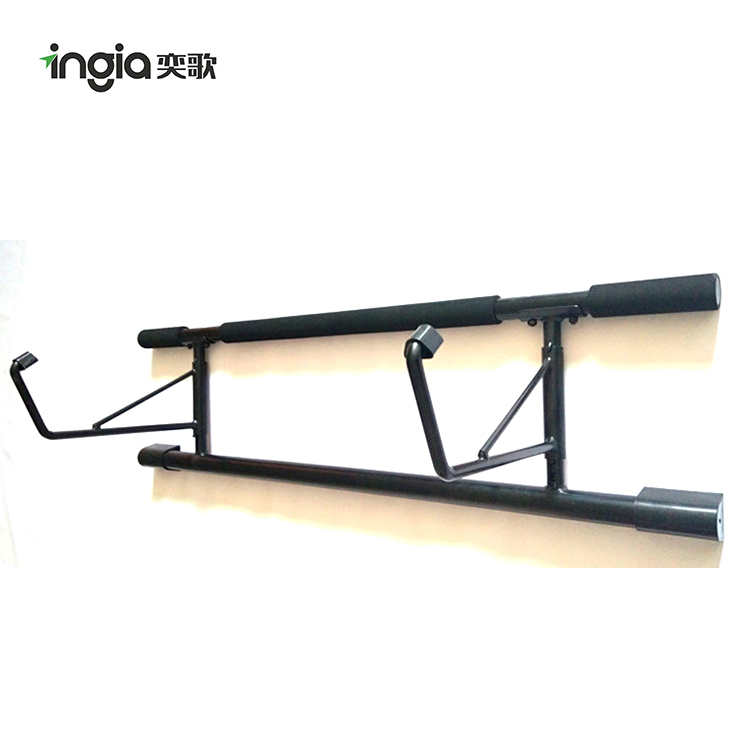 Portable Parallel Bars Door Gym Fitness Wall Mounted Push Up Bar