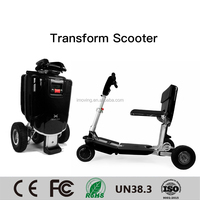 2017 imoving X1 New Model 48V 250W Electric Scooter, Chinese Factory 3 Wheels Electric Bike, Folding Electric Motorcycle