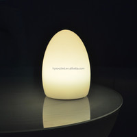 Rechargeable battery operated PE cordless table lamp