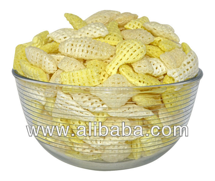 Best Quality Cereal Based Double Layered Snacks Pellets