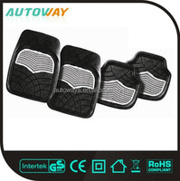 4 Piece Full Set Universal Color Perforated Rubber Mats
