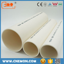 China UPVC PVC water drainage sewage pipe